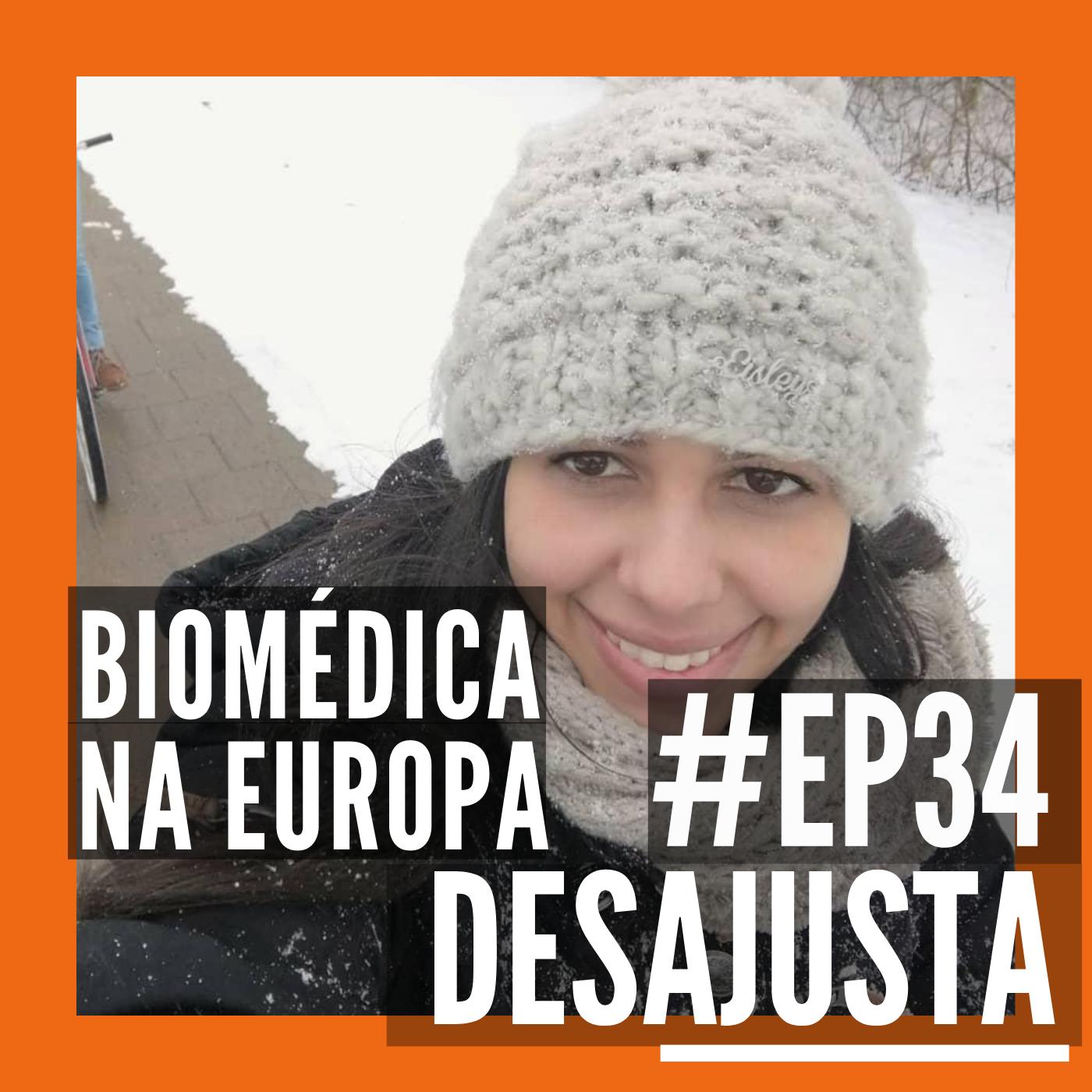 Biomédica na Europa - Com Gabi Melo